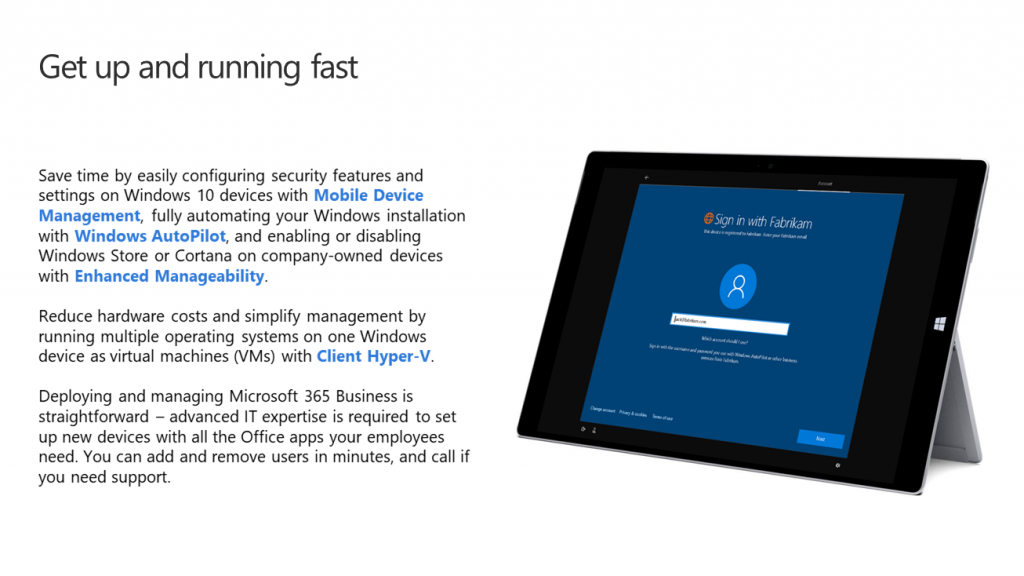 How Microsoft 365 Business can help improve your business