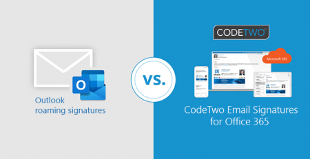 Outlook VS CodeTwo Signatures